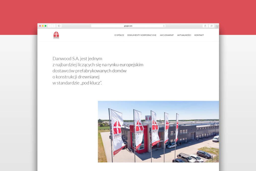 Danwood S.A. - Strona Korporacyjna